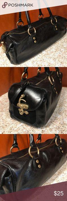 Antonio Melani Black leather Shoulder bag Antonio Melani Black leather Shoulder bag ANTONIO MELANI Bags Shoulder Bags