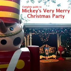 2019 Mickey S Very Merry Christmas Party Map Best Dates Touring