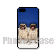 Iphone 4 4s 5 5s 5c Pug Pair Personalized iPhone by PhoneyCase, $15.00