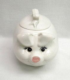 Vintage Pig Cookie Jar by Metlox Poppytrail