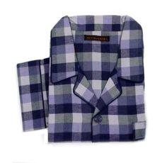 Pijama Pettrus Man de Franela. #menswear #homewear