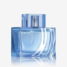 Excite by Oriflame Eau de Toilette Estee Lauder Fragrances, Best Fragrances, Oriflame Beauty Products, Oriflame Cosmetics, Best Fragrance For Men, Popular Perfumes, Alcohol, Perfume Collection, Bottle Design