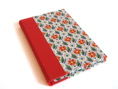 Vintage wallpaper notebook from Etsy. Love it