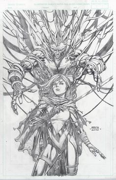 X-Force #26 Variant Cover | David Finch
