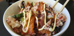 Sushi Bowl by aheckofakerfuffle:   Douzo meshiagari (Help yourself)! #Sushi