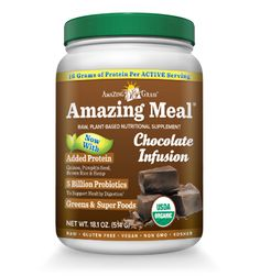 Plant Based Protein Powder | Amazing Meal - Chocolate Infusion
