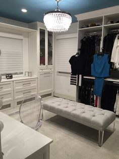 Theresa Caputo's Long Island Closet Renovation by Courtney Blaymore Interiors