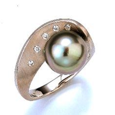 Gellner Tahitian Pearl Ring no way!!!! I love this line... On my wish list