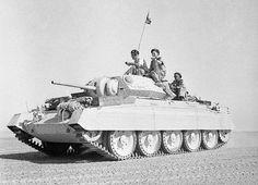 「十字軍」、第二次世界大戦中に英国陸軍タンクをクルージング平均