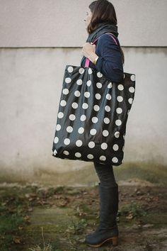 Oversized Tote bag giant bag Hobo Bag by patkas on Etsy, $28.00