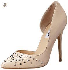 Steve Madden Women's Ataturk d'Orsay Pump,Nude Leather,9 M US - Steve madden pumps for women (*Amazon Partner-Link)