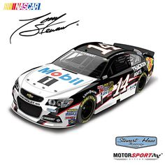 Tony Stewart No. 14 Mobil 1 2014 Diecast Car