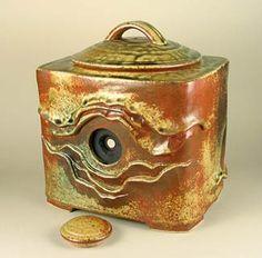 Ceramic pinhole camera, Steve Irvine.