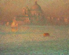 "Henri Le Sidaner ""La Salute. Matin d'hiver, Venise"""