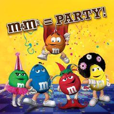 M&M's=Party!