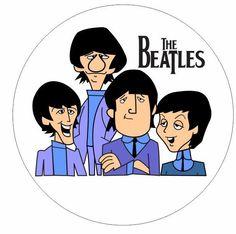 Classic Cartoon Characters, Classic Cartoons, Ringo Starr, Painting People, Painting For Kids, Cartoon Stickers, Cute Stickers, Yellow Submarine Art, Beatles Birthday