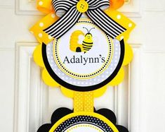 5x7 inches Bumble Bees. Personalised plus envelope The Hive birthday card