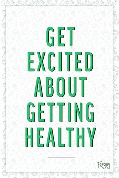 Ask yourself what gets you excited about getting healthy. Are you trying to achieve a healthy weight? Are you building muscle strength? Remind yourself every day to remain consistent with your goal. Healthy Weight, Get Healthy, Health Fitness Quotes, Food Quotes, Get Excited, Build Muscle, Food For Thought, Self Improvement, Goal
