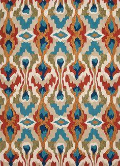 La Viva Bright Ikat Rug - Shop Luxury Area Rugs - favorite living room rugs