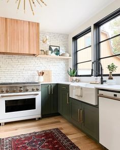 7 Design Trends That Have Defined The Last Decade (And Are Going to Stay) by DLB interior decor trends farmhouse kitchen, kitchen decor, color kitchen cabinets Design Moderne, Deco Design, Küchen Design, Layout Design, Design Trends, Home Decor Kitchen, New Kitchen, Home Kitchens, Stylish Kitchen