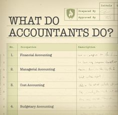 What Do Accountants Do? A Look at the Life Behind the Ledger #accounting