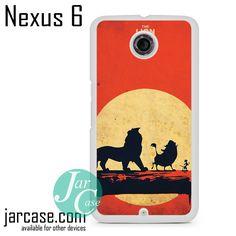 The Lion King Hakuna Matata Phone case for Nexus 4/5/6