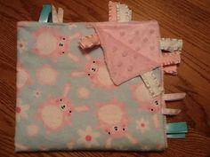 Ribbon Blanket  Silly Bunnies by BlanketsbySheryl on Etsy