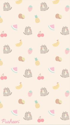 Kawaii Wallpaper, Cat Wallpaper, Cute Wallpaper Backgrounds, Cellphone Wallpaper, Pattern Wallpaper, Iphone Backgrounds, Iphone Wallpapers, Cutest Cats Ever, Kittens Cutest
