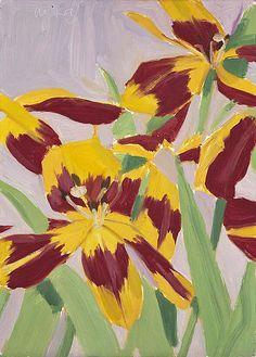 Tulips, 1969, Alex Katz