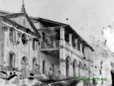 Iglesia y Misión de Cabo S. Juan en Monte Mª Misión fundada en 1885. Años más tarde se trasladó la Misión a Río Benito.