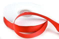 "5/8"" Red Grosgrain Ribbon"