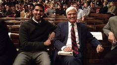 """At the Celebration of Life service for late apologist Nabeel Qureshi on Thursday, Ravi Zacharias founder of Ravi Zacharias International Ministries (RZIM), reflected on the life, legacy, and faith of his """"son. Nabeel Qureshi, Ravi Zacharias, Christian Apologetics, Funeral, Sons, Reflection, Faith, Memories, Sayings"""