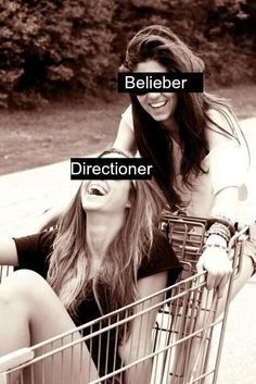 """I honestly can't wait for the madness of """"Better Without You""""...  FINALLY DIRECTIONERS AND BELIEBERS GET ALONG!"""