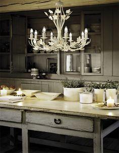 żyrandol Champagne (Ideal Lux)