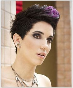 Beautiful Hair by DeeAnn D'Alessio Short Punk Hair, Short Straight Hair, Short Hair Cuts, Hair Styles 2014, Curly Hair Styles, Androgynous Haircut, Best Hair Dye, 90s Hairstyles, Sweet Hairstyles