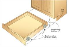 Discover how to build shop cabinets, organizers, and unique storage solutions to maximize space in your woodworking shop. From clamp racks to blade storage solutions, you'll find many useful shop storage tips. Kitchen Storage Solutions, Diy Kitchen Storage, Kitchen Organization, Pantry Diy, Organized Pantry, Workshop Organization, Pantry Labels, Cupboard Storage, Organizing