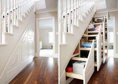 Haben Sie auch immer zu wenig Platz im Haus? Schauen Sie sich dann schnell diese 10 platzsparenden DIY-Ideen an - DIY Bastelideen