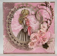 Sweet Pea Stamps: Jane presents Mother and Baby Girl by Conie Fong