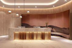 Lobby Interior, Interior Design, Lobby Reception, Fertility Center, Sales Office, Counter, Detail, Nice, Wallpaper