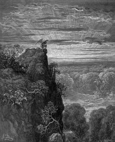 Paradise Lost. Illustration to Milton's Paradise Lost.
