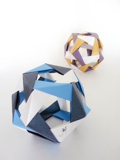Dodecahedron origami (Robert Neale)