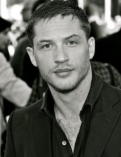 Tom Hardy. I am so obsessed with him lately. Haven't had a silly fascination over a famous guy in a long time. So manly