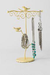 Metal Bird Jewelry Holder @ Francesca's for $18!