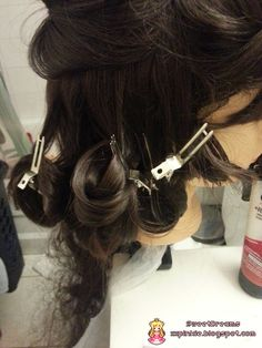 ❤♔SweetDreams♔❤: Tutorial: How to Re-curl a Non-heat Resistant (Synthetic) Wig