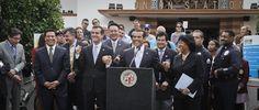 Best Politician using Social Media to reach Latino(a)s  Los Angeles Mayor Antonio Villaraigoza – @villaraigosa
