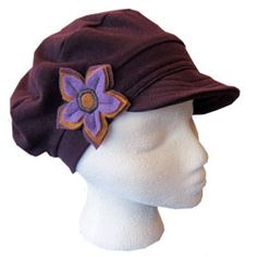 Flood Clothing hats...my locally-made fave and made of recycled clothing!