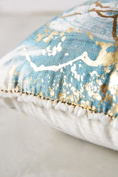 Slide View: 3: Marbled Cosima Pillow