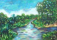 Justus Donker - Landschap Suriname