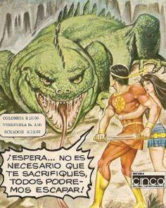 Comics Mexico, Righteousness, Warriors