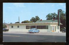 Richcliff Restaurant, Folkston, GA - 1950s